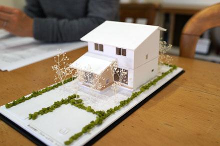 今回の住宅の模型