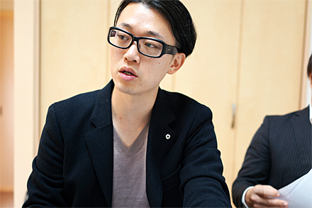 福原代表が信頼する若手設計、野崎さん