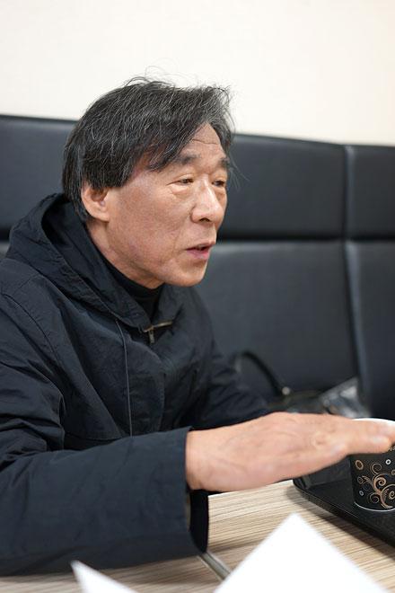 設計の趙海光さんには新潟でお話をうかがいました