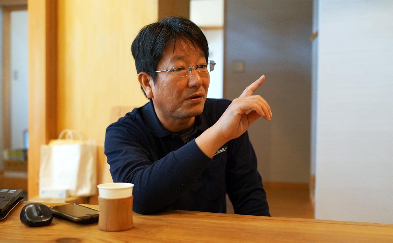 田瀬さん、堀部さんとの仕事の魅力を語る清水さん