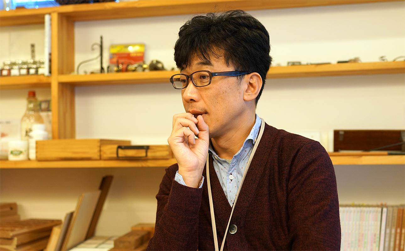 お客様窓口であり代表でもある福田さん