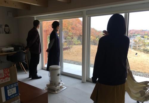 1号地 松澤先生訪問